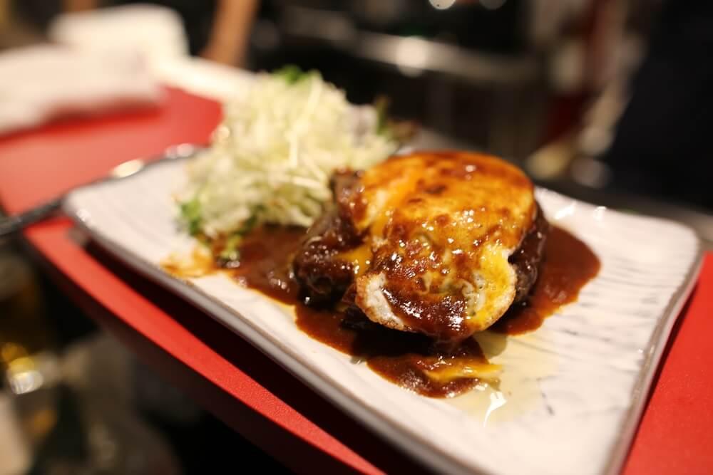 酒料理 菰野 松坂牛のハンバーグ