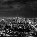 サムライブルーな東京タワー。