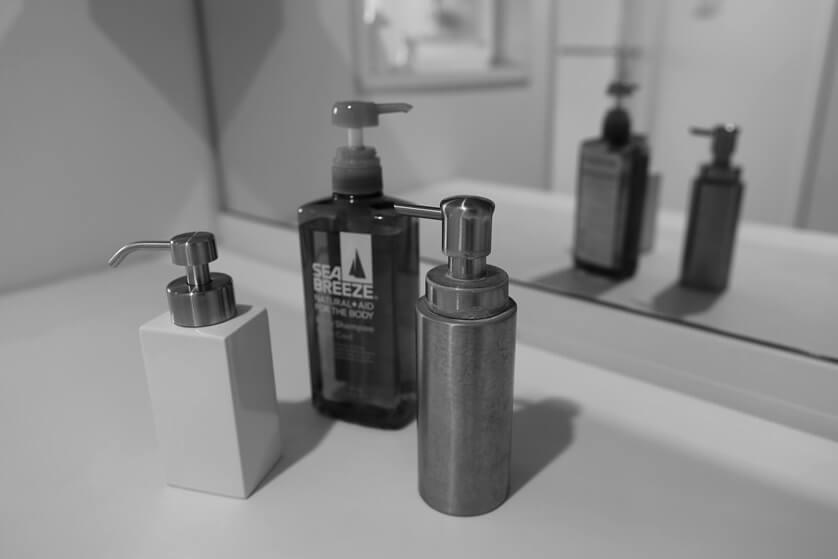 泡々になるFrancfrancのお洒落な洗顔石鹸用泡ボトル (1)