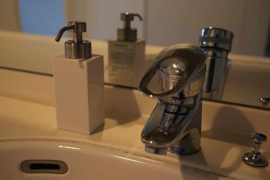 泡々になるFrancfrancのお洒落な洗顔石鹸用泡ボトル (3)