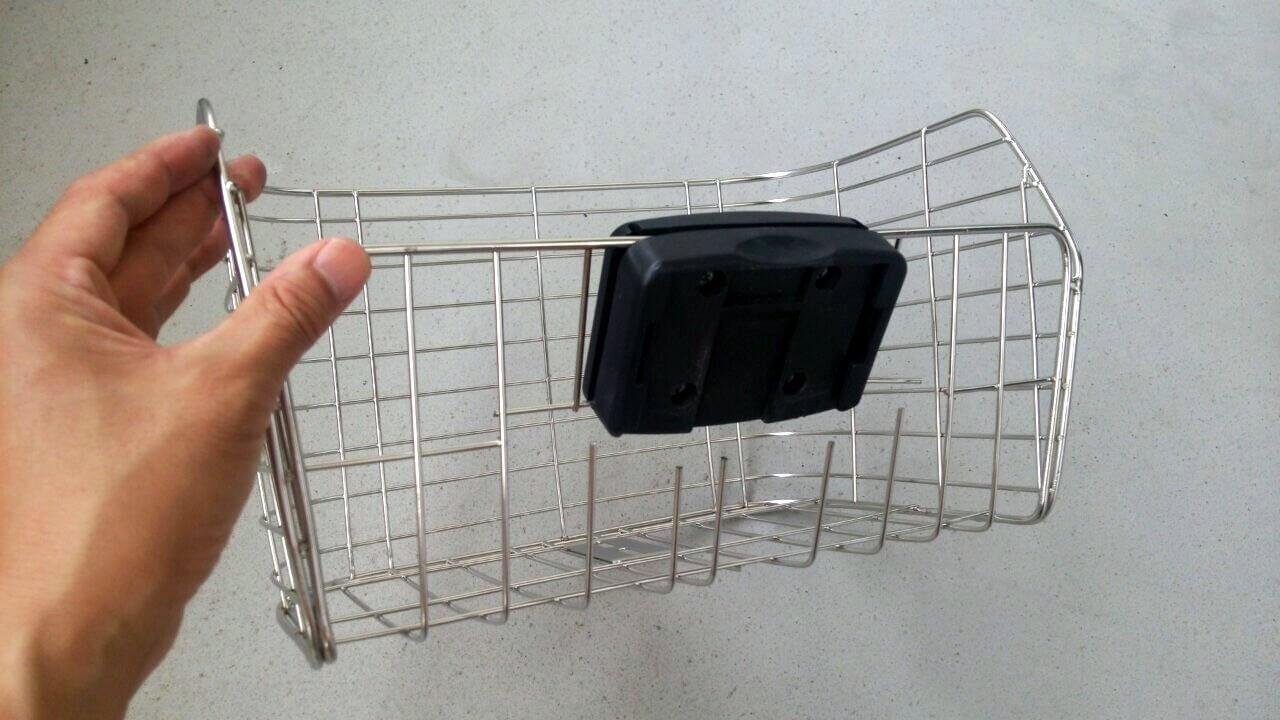 前カゴSTB-220 ステンレス 自転車用カゴ stainless basket (2)