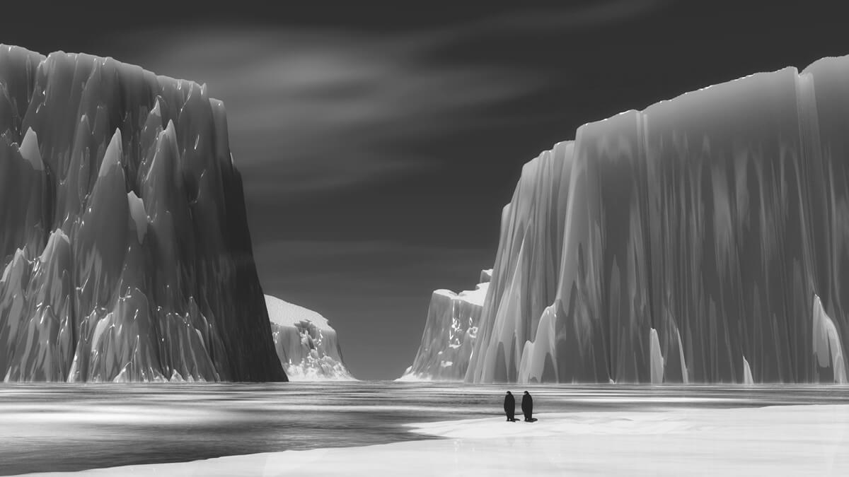 the south pole 南極のような涼しさを