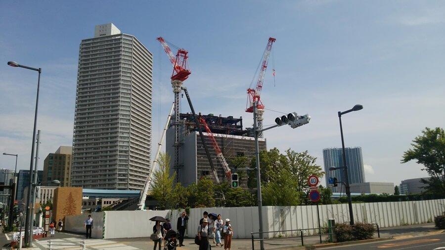 豊洲シビックセンター開発地