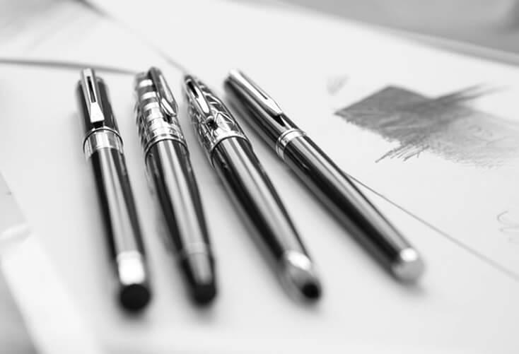 代官山蔦谷書店ガーデンギャラリー ウォーターマン 2014年新製品 「ブルーオブセッション」コレクション 発売記念イベント WATERMAN Blue Obsession Tokyo Exhibition fountain pen