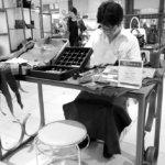 菩薩が宿るレザー職人Filossoのコジマックス、三越日本橋本店に現る。
