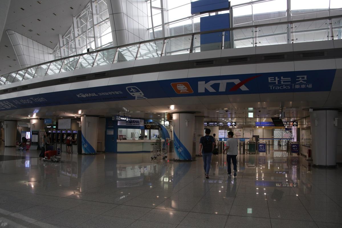 空港地下鉄 KTX 仁川国際空港 Incheon International Airport (1)