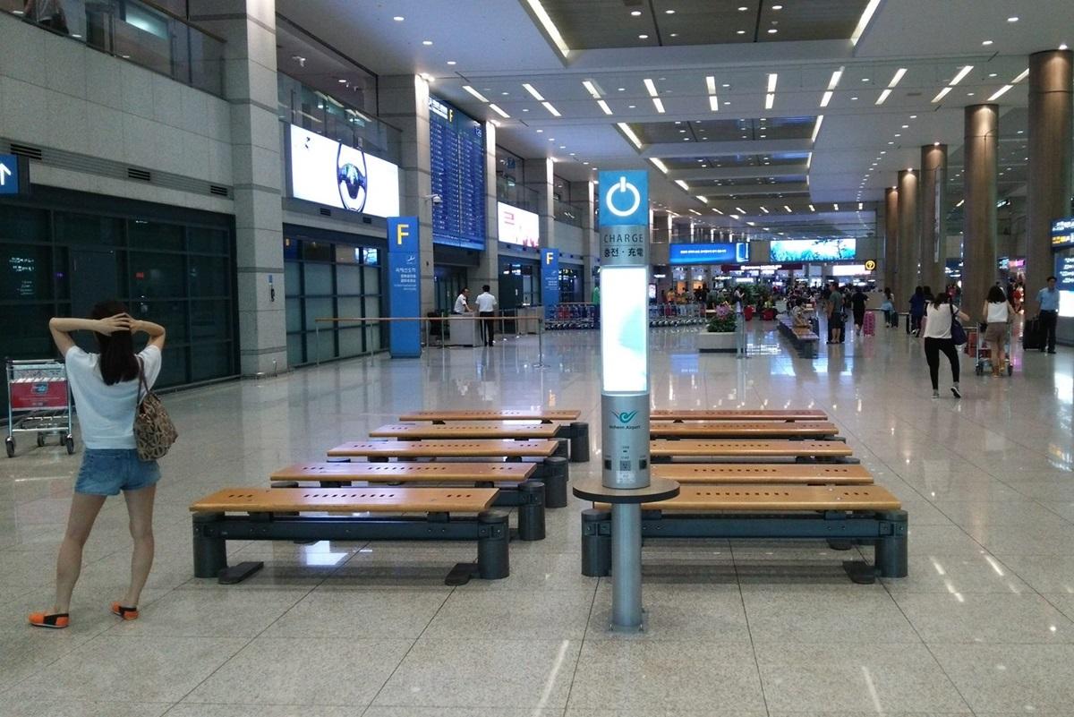 充電スポット Incheon International Airport (1)