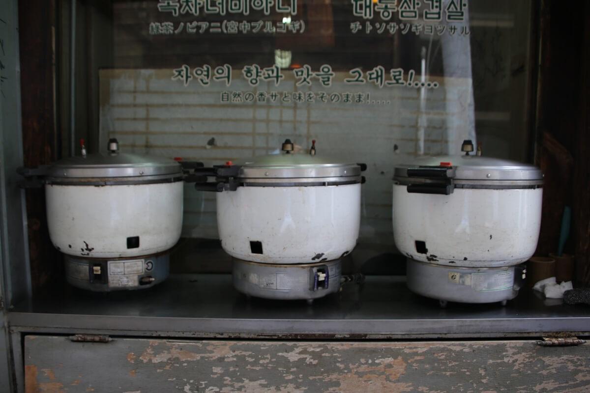 仁寺洞 茶イヤギ 竹筒ご飯定食の店 Insadong