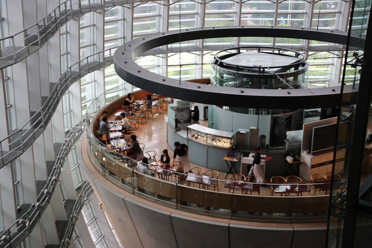 サロン・ド・テ ロンド [2F] 発見 国立新美術館 THE NATIONAL ART CENTER-TOKYO (11)