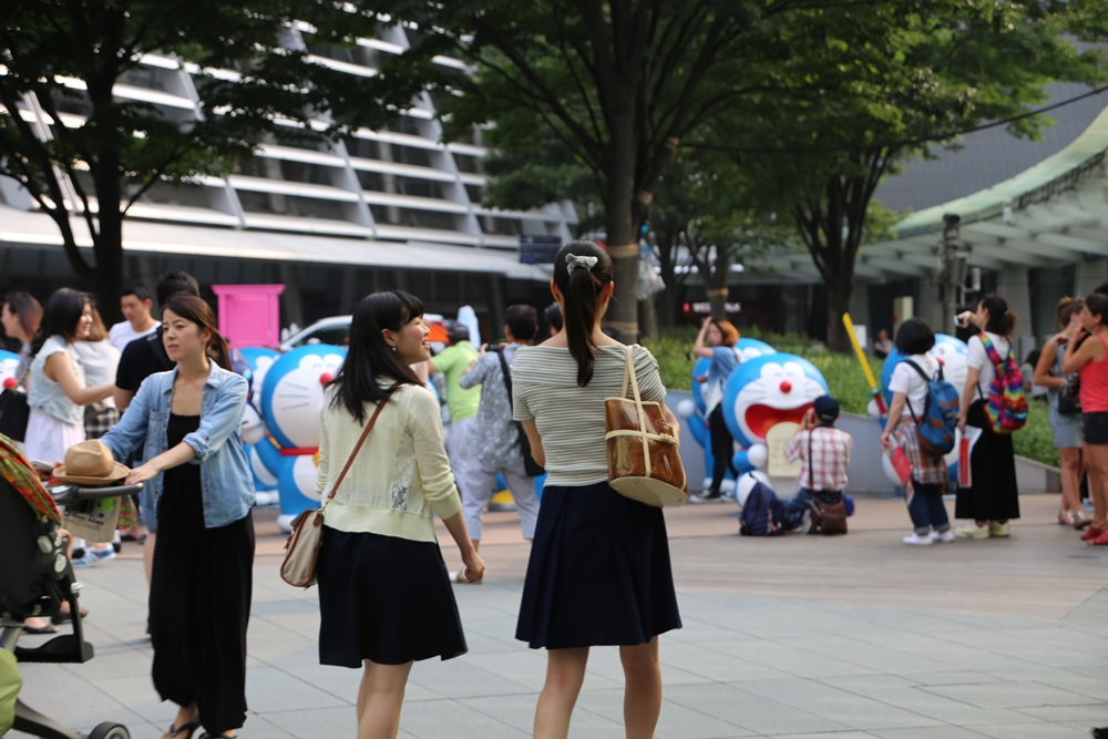 六本木ヒルズ夏祭り ドラえもん roppongi hills doraemon (25)
