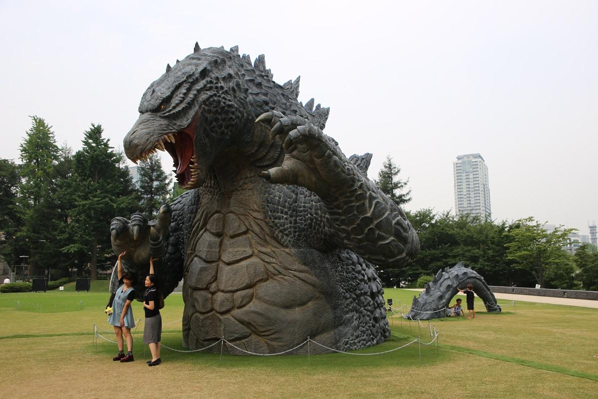 東京ミッドタウン ゴジラ tokyo midtwon GODZILLA (1)