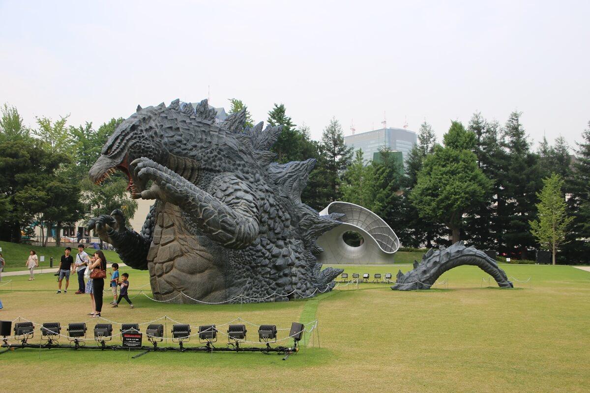 東京ミッドタウン ゴジラ tokyo midtwon GODZILLA (18)