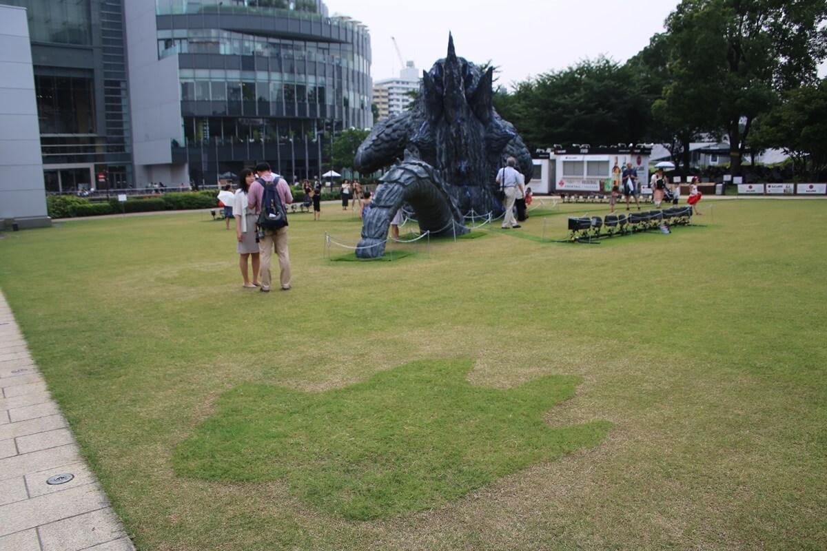 東京ミッドタウン ゴジラ tokyo midtwon GODZILLA (8)