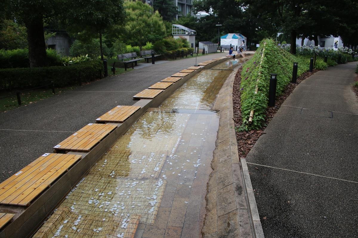 東京ミッドタウン 足水 tokyo midtwon ashimizu (1)