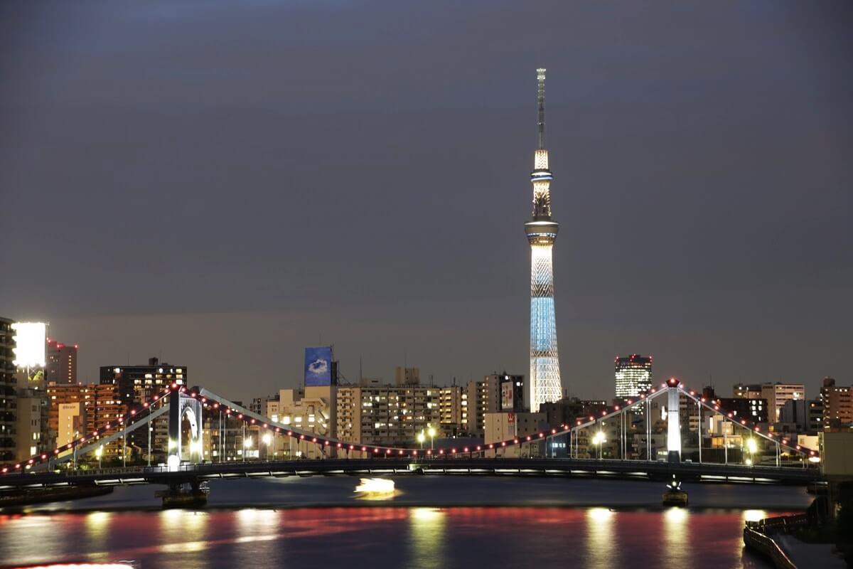 隅田川大橋からの東京スカイツリー tokyo skytree (31)