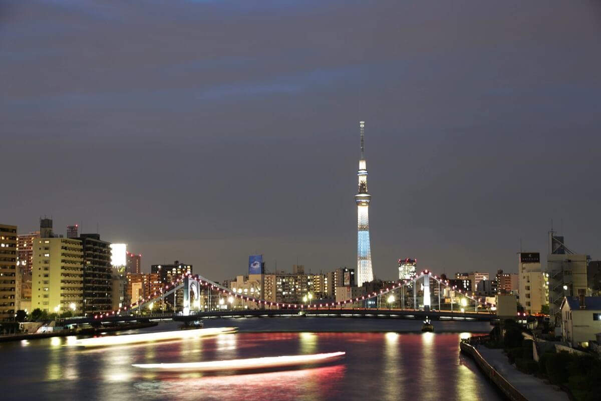 隅田川大橋からの東京スカイツリー tokyo skytree (32)