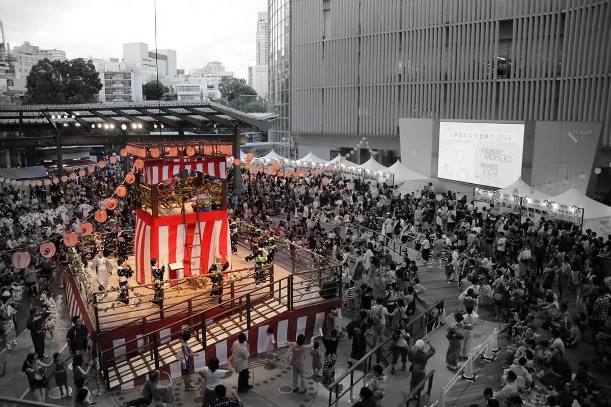 2014 テレビ朝日・六本木ヒルズ 夏祭り SUMMER STATIONをパトロール。