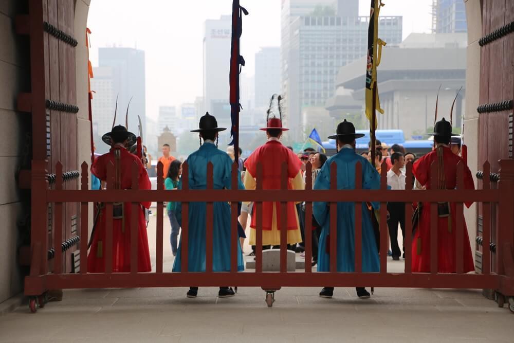 景福宮(けいふくきゅう、경복궁、キョンボックン) 光化門の守門将 Gwanghwamun sumunjang (14)