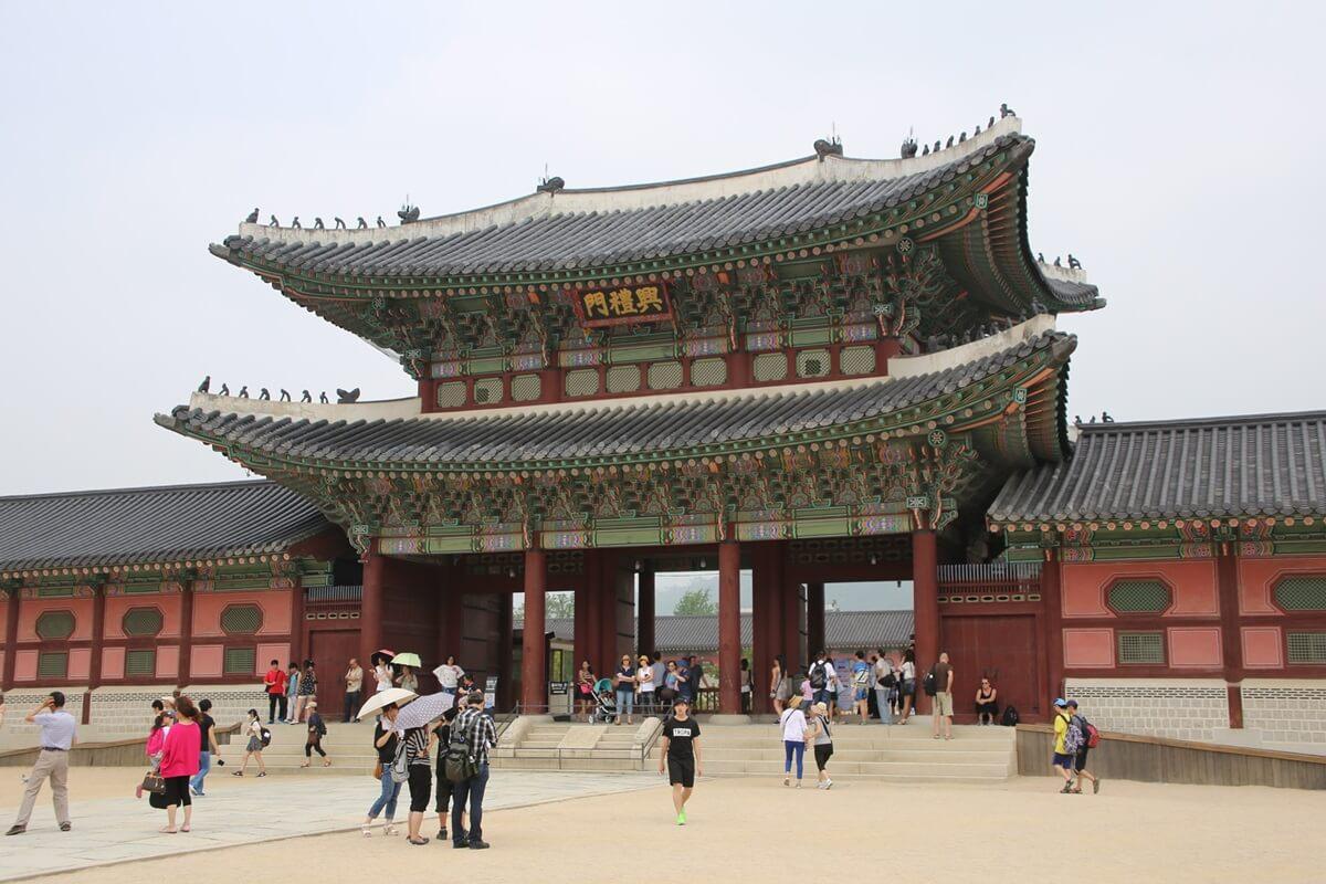 景福宮 興礼門(フンレムン) Gyeongbokgung