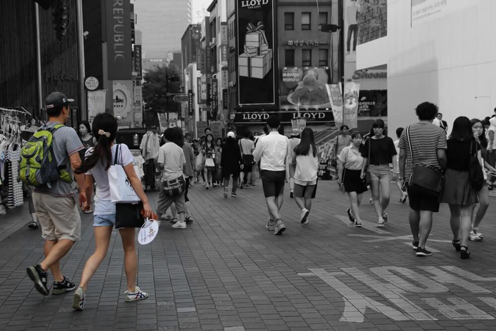 明洞 Myeong-dong