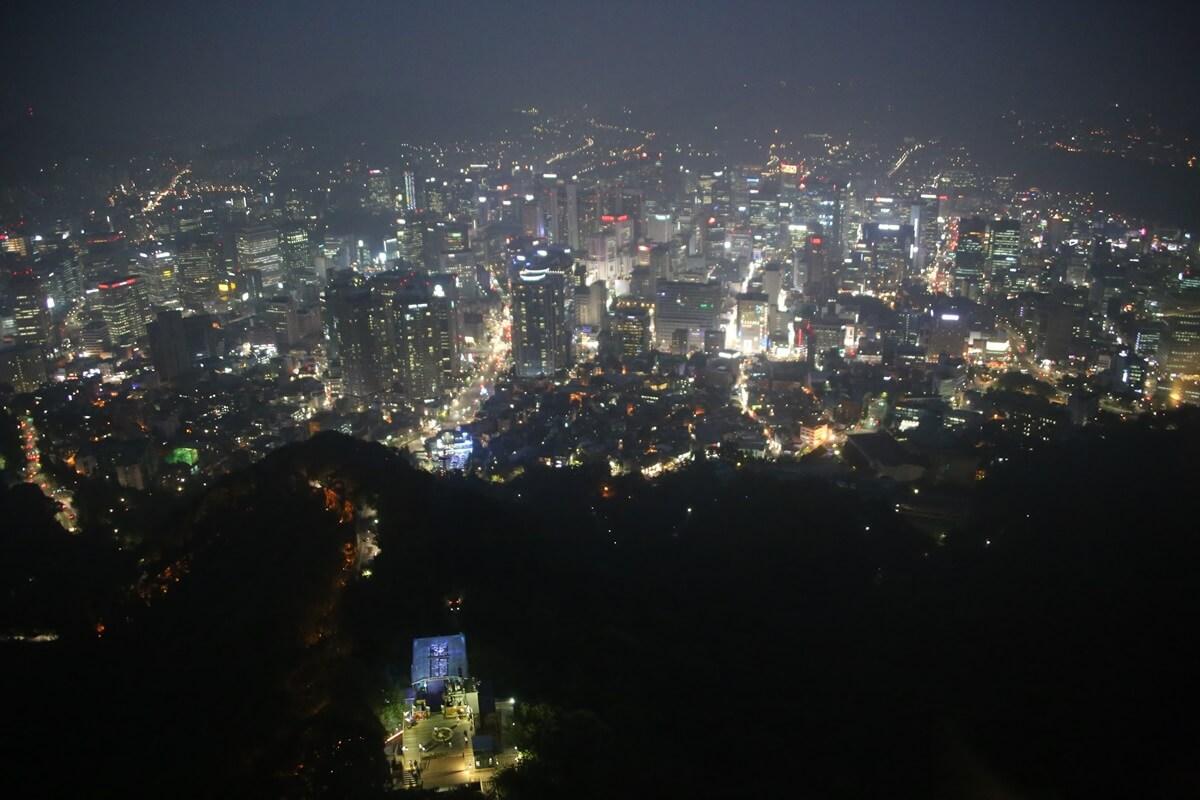 夜景 Nソウルタワー 南山 N-Seoul-tower (11)