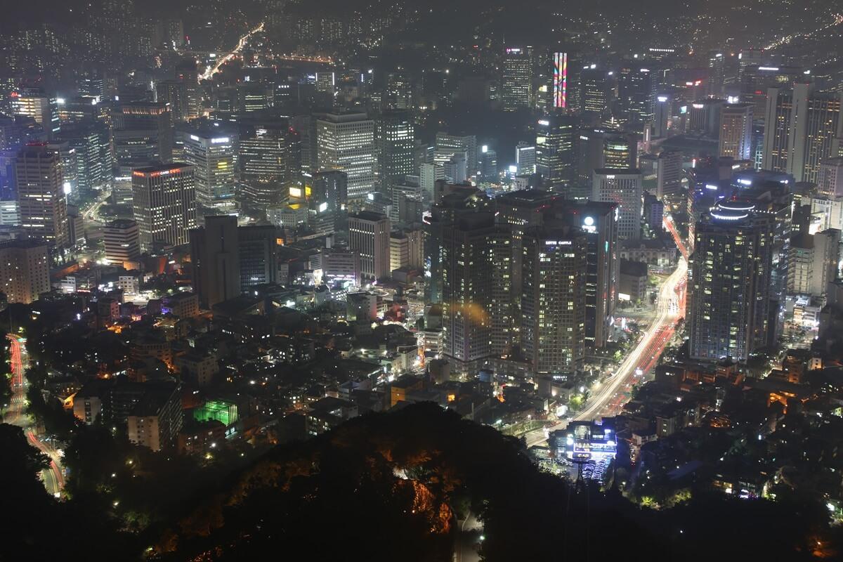 夜景 Nソウルタワー 南山 N-Seoul-tower (13)