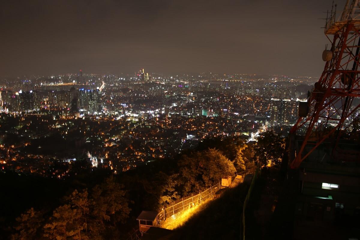 夜景 Nソウルタワー 南山 N-Seoul-tower (14)