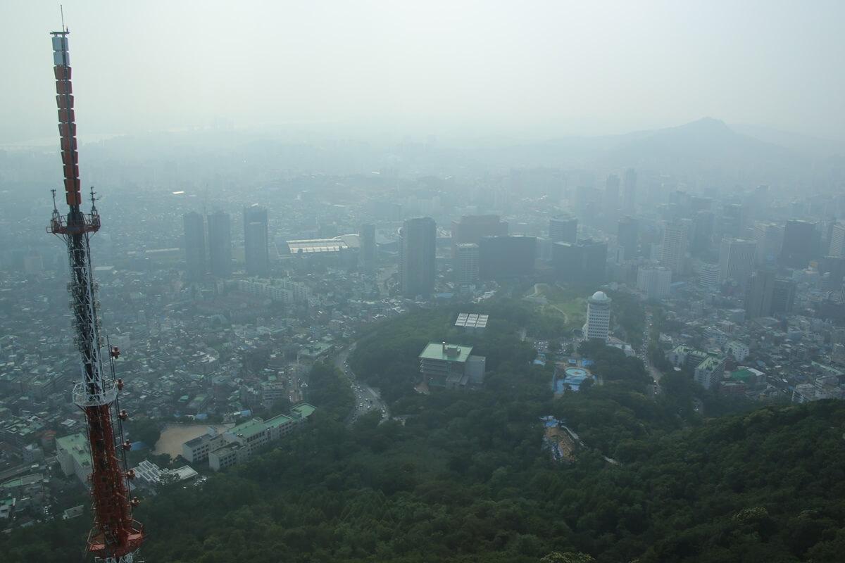 景色 Nソウルタワー 南山 N-Seoul-tower (2)