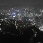 韓国・ソウルの旅 vol.16 Nソウルタワー夜景編。