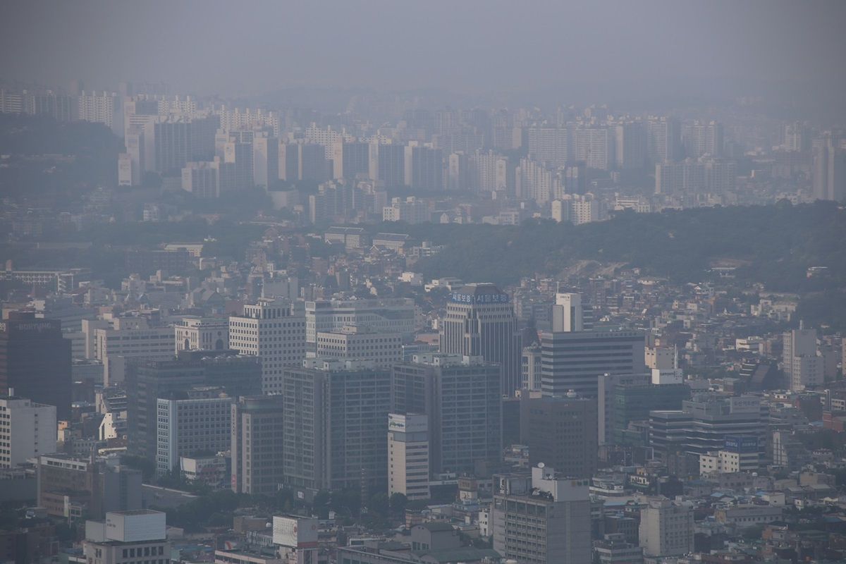 Nソウルタワー真下 南山 Namsan and N-Seoul-tower (1)
