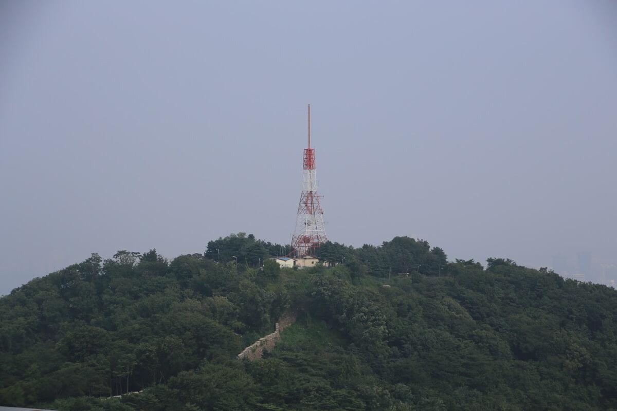 Nソウルタワー真下 南山 Namsan and N-Seoul-tower (11)