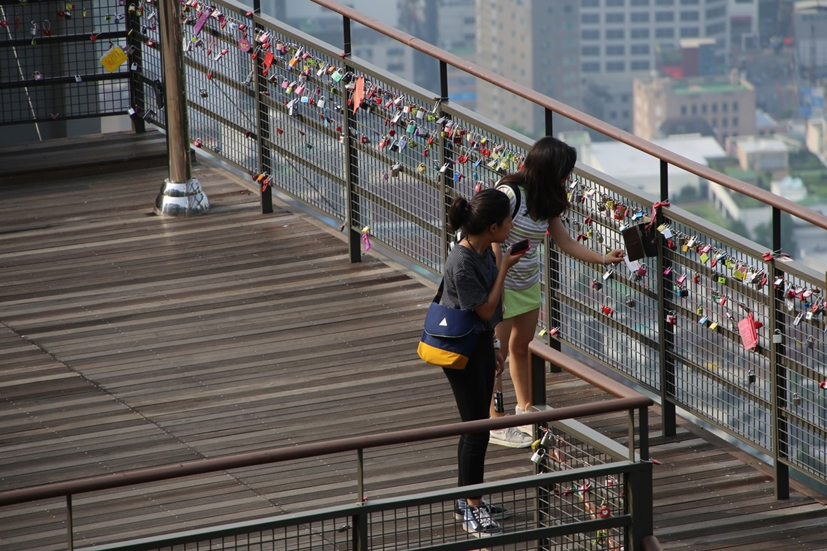 Nソウルタワー真下 南山 Namsan and N-Seoul-tower (4)