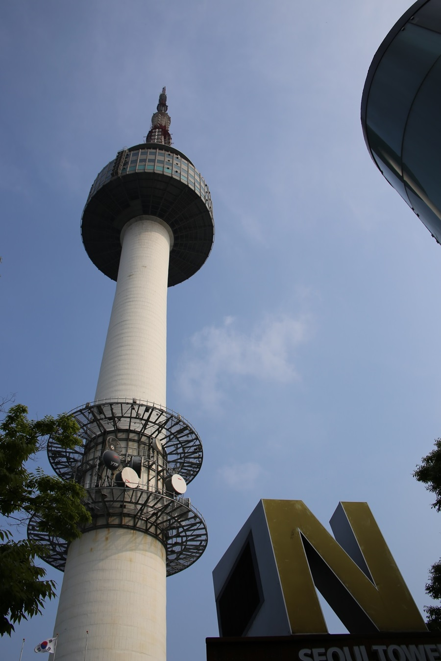 Nソウルタワー真下 南山 Namsan and N-Seoul-tower (8)