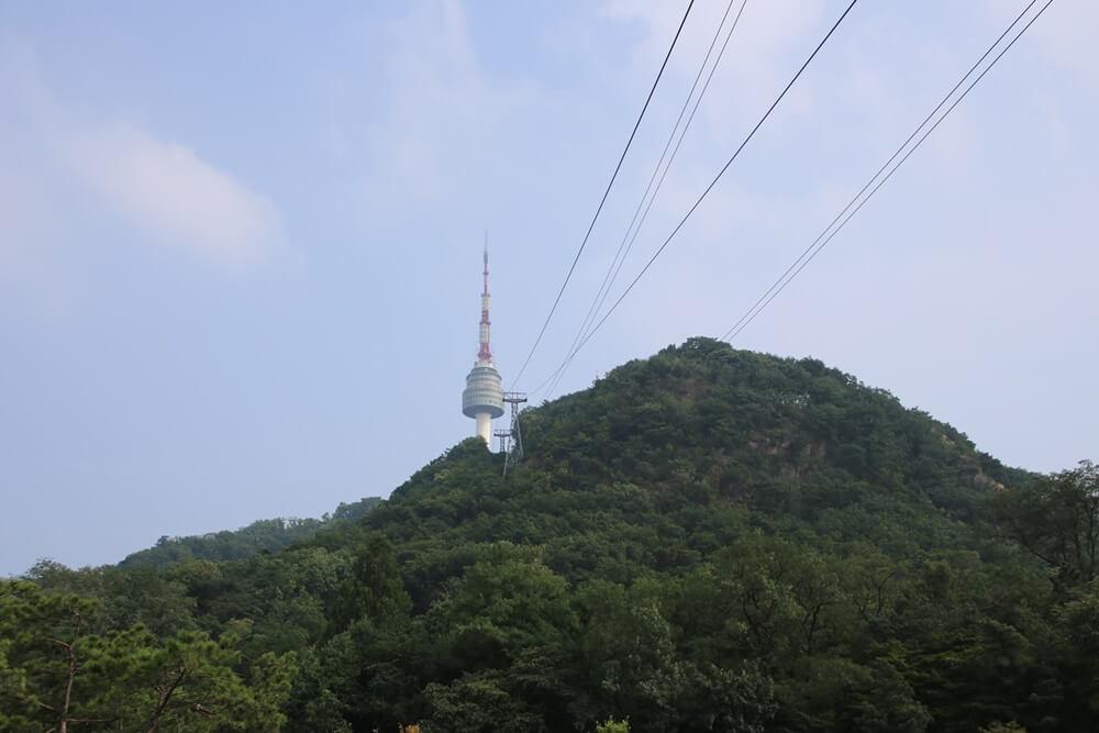 南山ケーブルカー Namsan cable car (1)