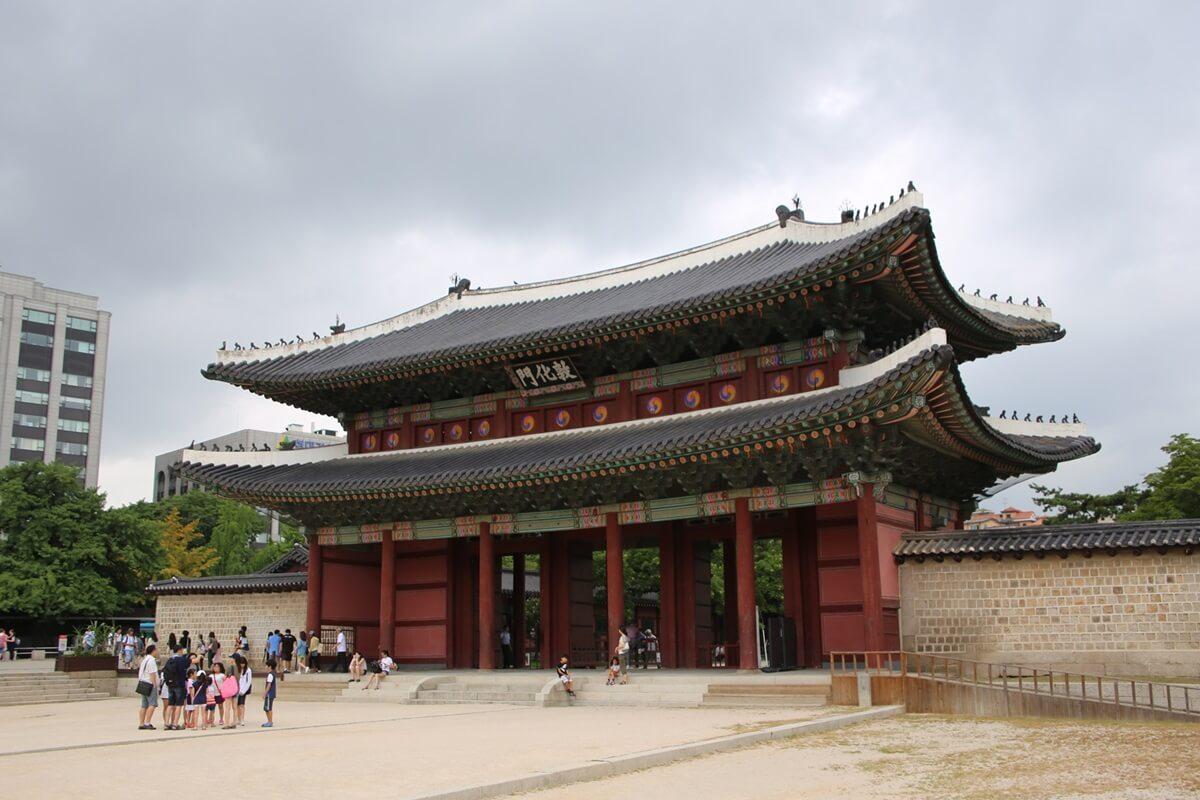 敦化門 世界遺産 ソウル 昌徳宮 SEOUL Changdeokgung (1)