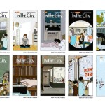 BEAMS発行のカルチャー誌『 インザシティ 』、エイドリアン・トミネ氏の描く表紙に興味津々。