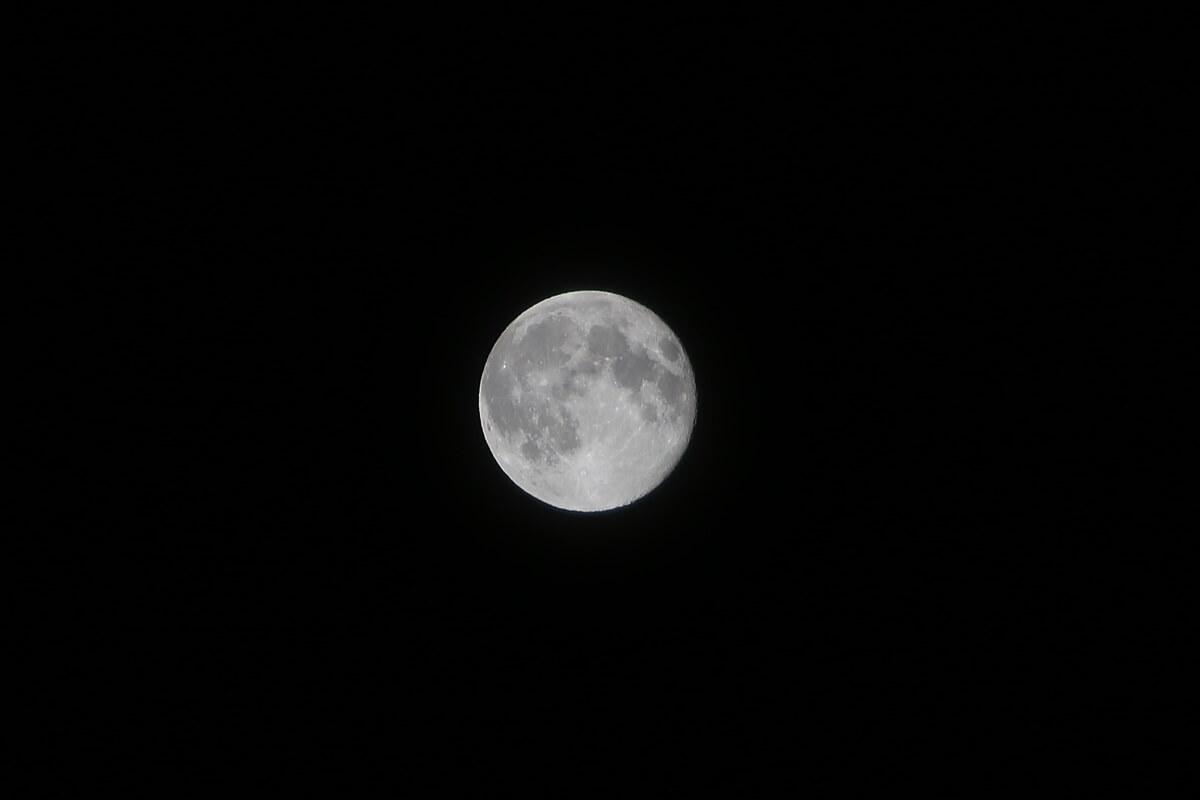 2014年8月11日 満月:スーパームーン。super moon (1)