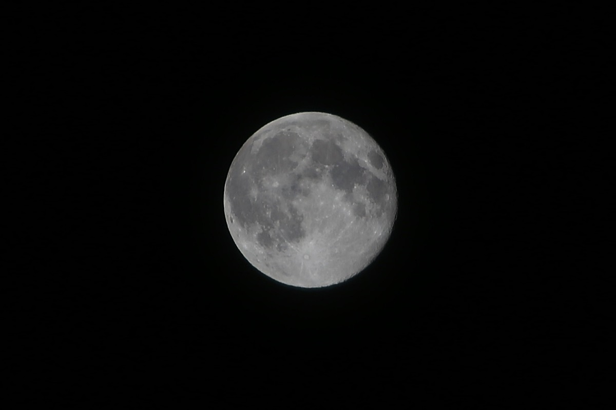 2014年8月11日 満月:スーパームーン。super moon (2)