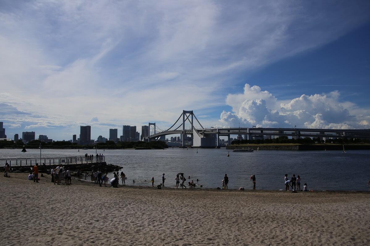 東京湾から眺める埼玉方面の積乱雲 tokyo bay cumulonimbus (12)