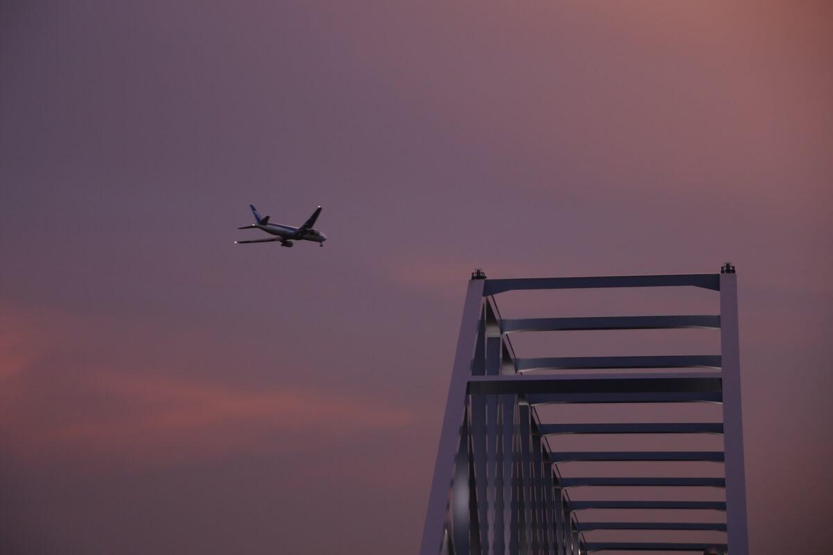東京ゲートブリッジ 夕焼け tokyo gate bridge (1)