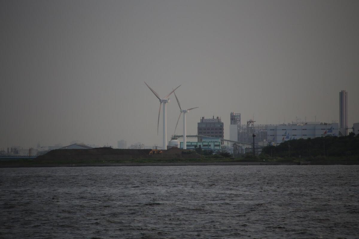 若洲海浜公園 海釣り施設 東京ゲートブリッジ 風力発電 wakasu tokyo gate bridge (5)