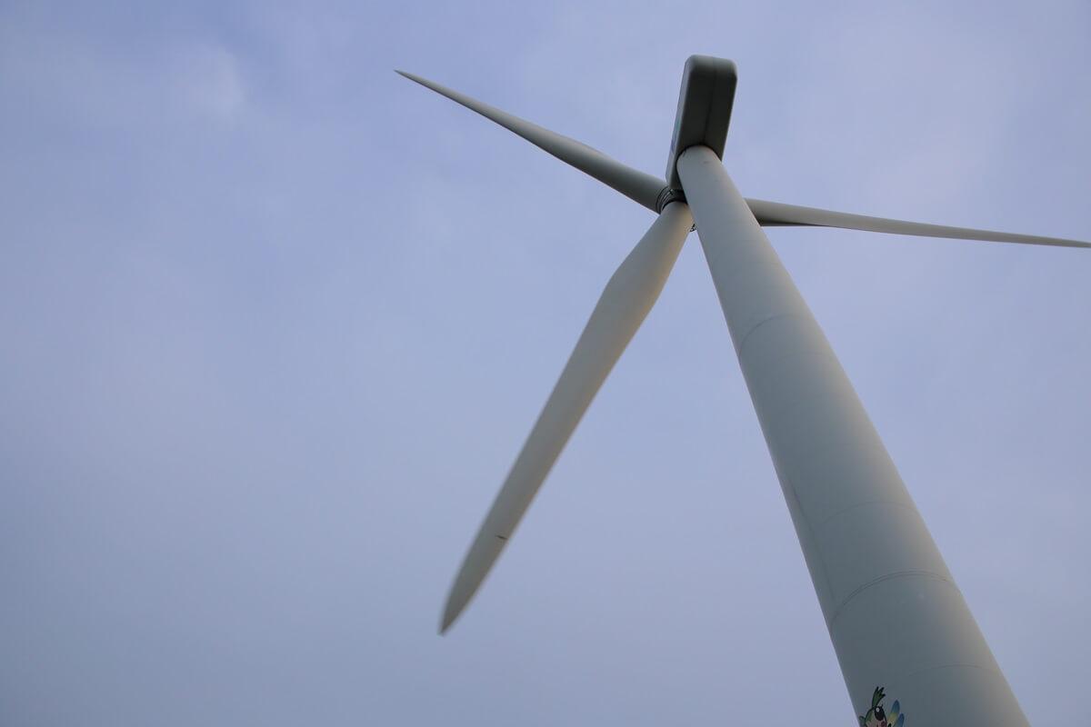 若洲海浜公園 風力発電 wind power generation (3)
