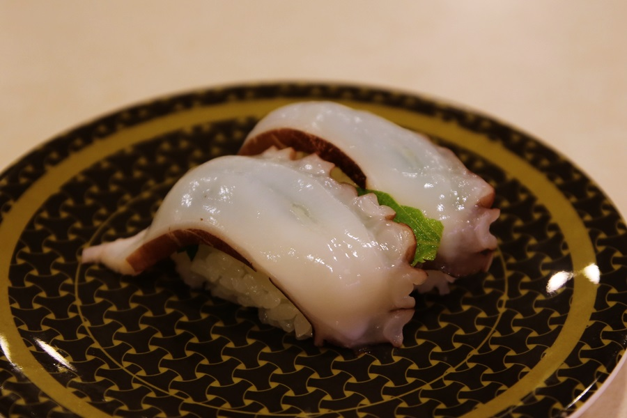 大葉生タコ 回転寿司 はま寿司 hamasushi (10)