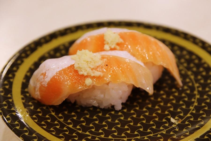 大トロサーモン 回転寿司 はま寿司 hamasushi (8)