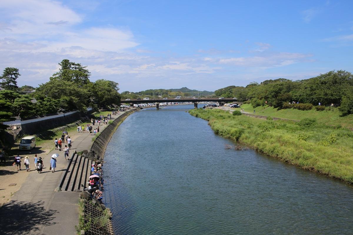 内宮 お伊勢参り 五十鈴川 isuzogawa (2)