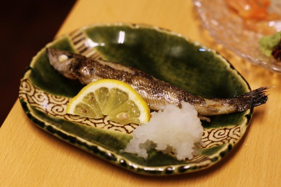 本ししゃも 豊洲 和食 安庵 toyosu anan (4)