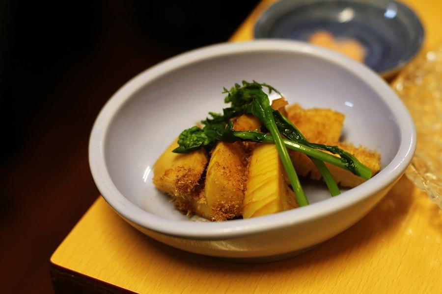 タケノコの煮物 豊洲 和食 安庵 toyosu anan (6)