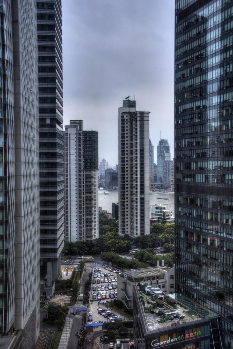 17階からの景色 上海 IFCレジデンス IFC Residence (9)