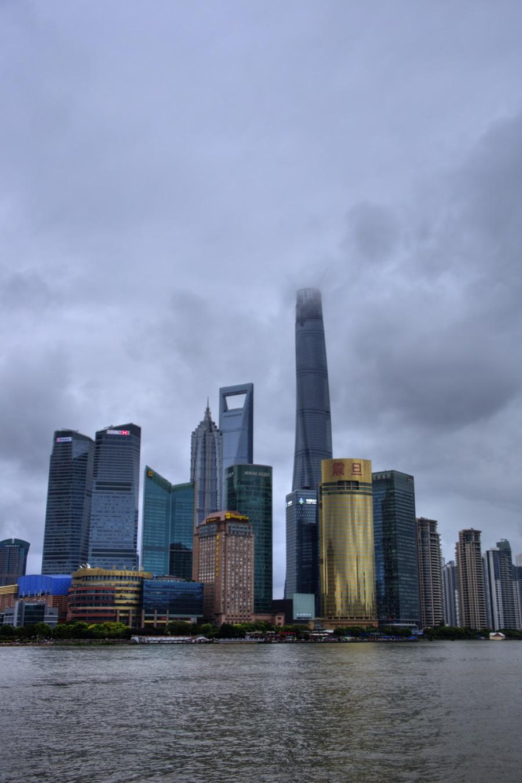 浦東エリア 超高層タワービル群 外灘 バンド ワイタン The Bund Zhongshan East 1st Rd Huangpu Shanghai (12)