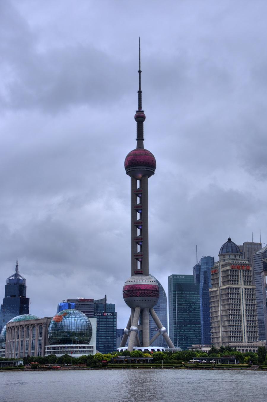 上海テレビ塔 オリエンタルパールタワー 上海タワー 東方明珠電視塔 浦東エリア 超高層タワービル群 外灘 バンド ワイタン The Bund Zhongshan East 1st Rd Huangpu Shanghai (14)